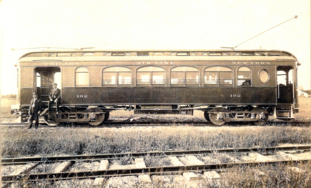 Electric Old Fashioned Train